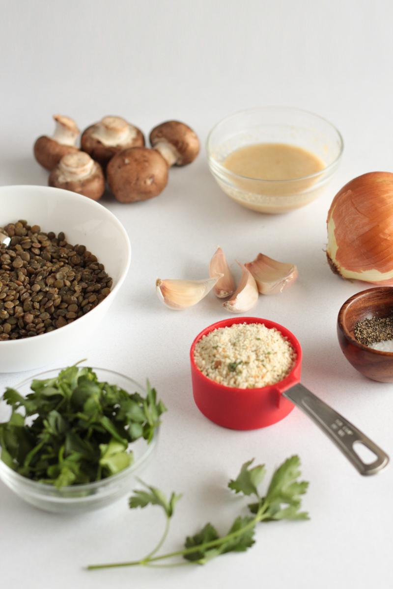 Vegan Plant-based Italian Lentil Meatballs