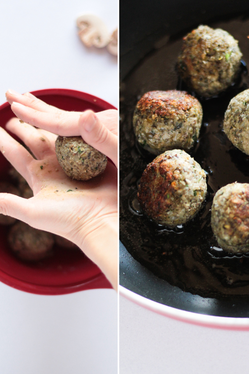 Vegan Italian Lentil No Eggs No Meat Meatballs