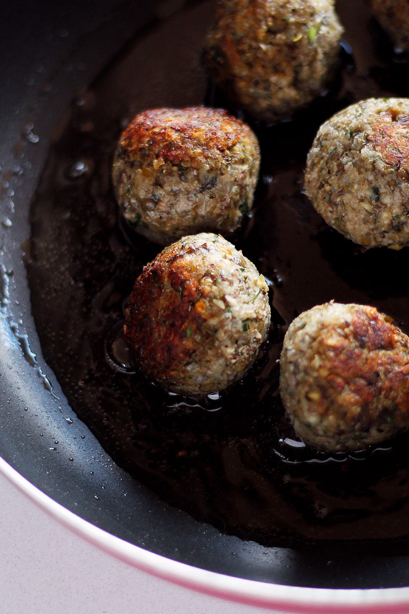 Vegan Meatballs Recipe by Pasta-based. Bake or fry the meatballs until crispy. Freeze leftovers after cooking to store for later.