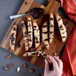 Vegan Italian Chocolate-Chip Almond Biscotti