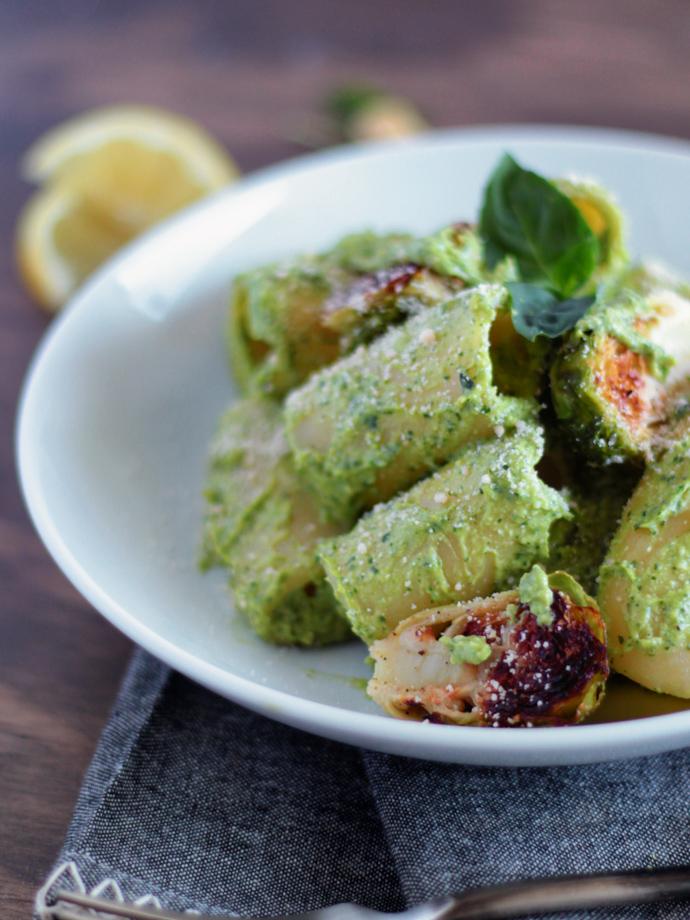 Easy Vegan Oil Free Avocado Pesto