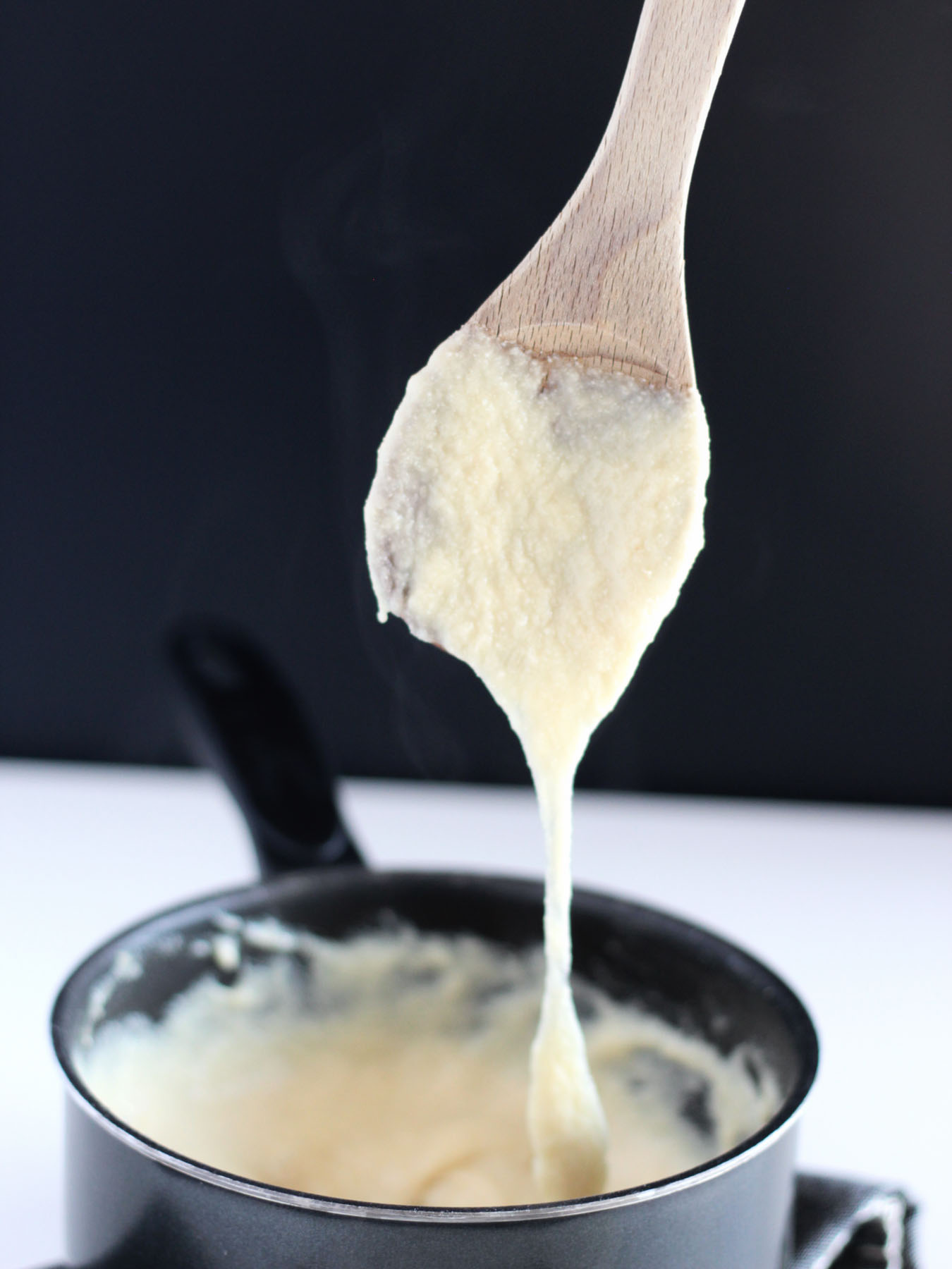 EASY 10 Minute Stretchy Gooey Vegan Mozzarella Cheese Recipe