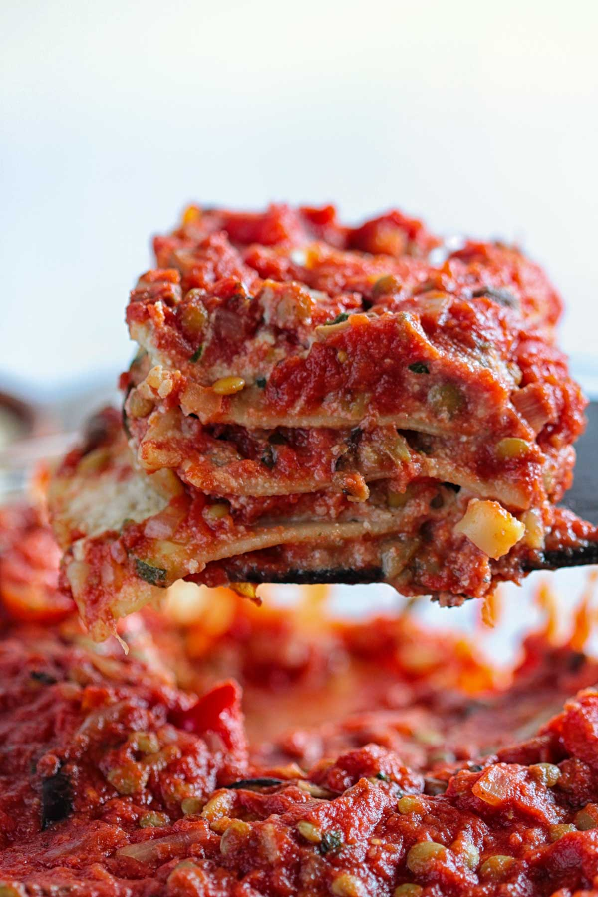 Italian Vegetable Vegan Lasagna with Lentil Bolognese and Roasted Vegetables Easy Almond Tofu Ricotta Recipe