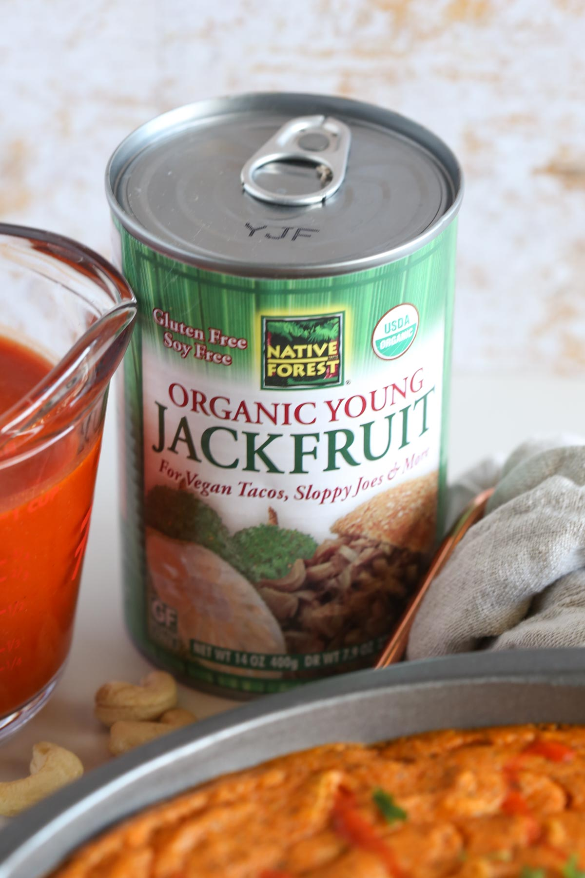 Creamy Vegan Buffalo Jackfruit Dip with Vegan Cheese. The Perfect Snack for Football Season.