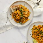 Easy Vegan Pumpkin Curry Pasta