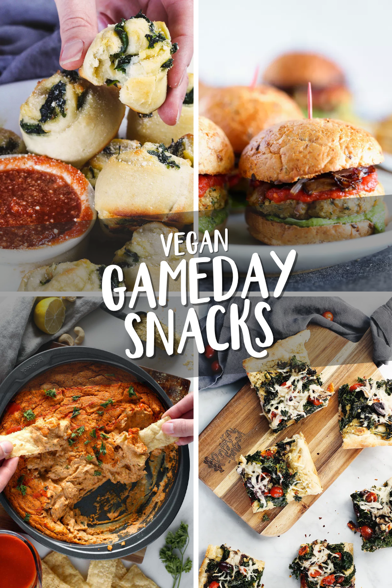 Vegan Super Bowl Appetizers by pastabased.com