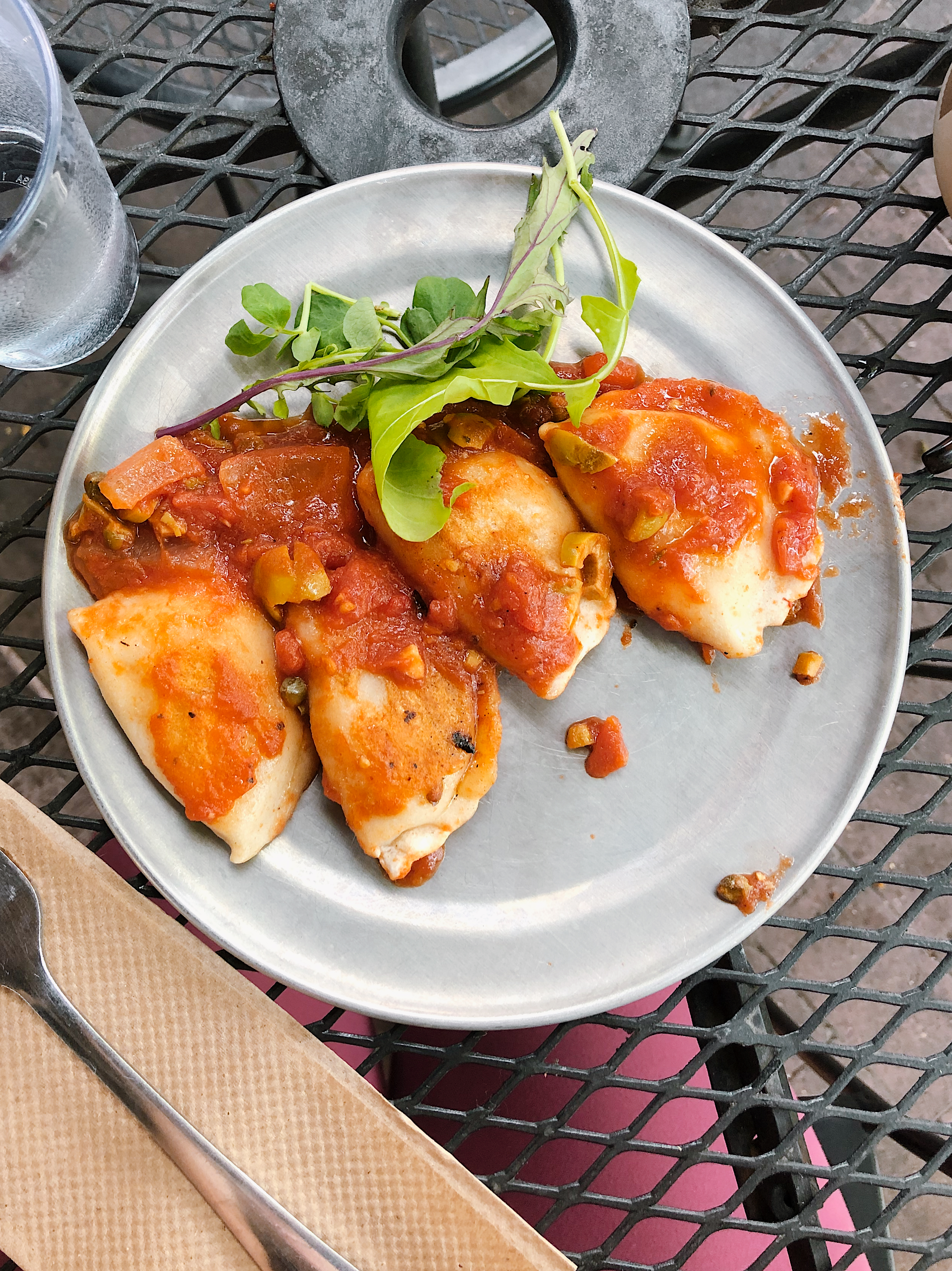 The Ultimate Guide to the BEST Vegan Food in Denver. Pierogies from Urban Beets Cafe in Arvada, CO.