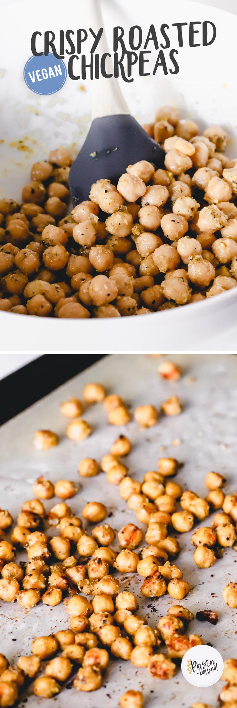 Crispy Roasted Chickpeas by Pasta-based.